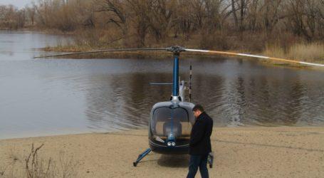 Гелікоптер на пляжі, пожежа в центрі Кам'янського та будівництво на каналізаційному колекторі в День добровольця