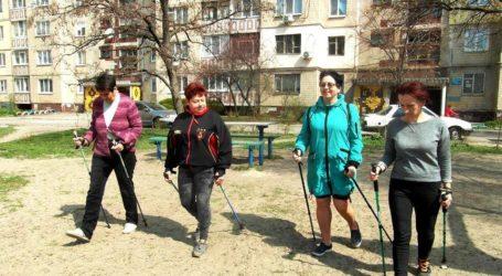 Скандинавська хода – прогулянка та фітнес