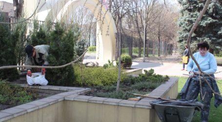 Центральный парк готовится к открытию 27 апреля