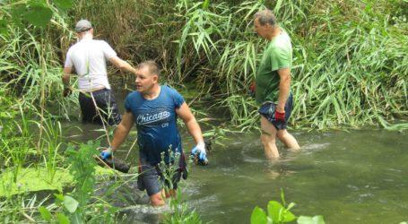 Розчищенням лівобережного каналу займались мешканці Кам'янського