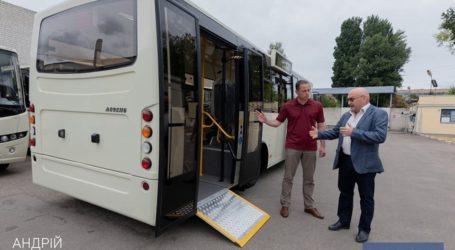 Нові комунальні автобуси у Кам'янському: процес придбання пішов