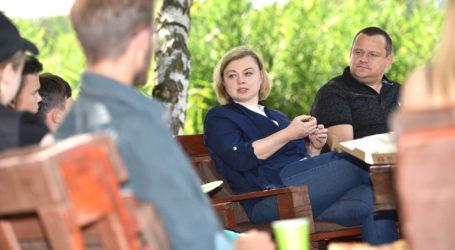 Анна Личман раскрыла некоторые подробности предвыборной кампании «Слуги народа» в Каменском