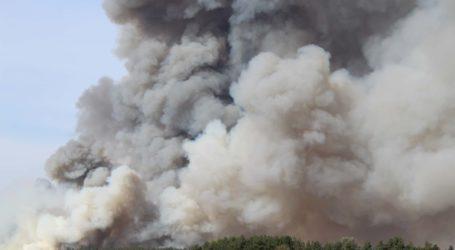 пожар в Радселе