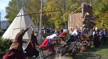 Козацькі розваги на Покрова в Кам'янському (фоторепортаж)