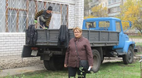 Радіодиктант для засуджених та рятувальні роботи для будинку, що підтоплюється в Кам'янському