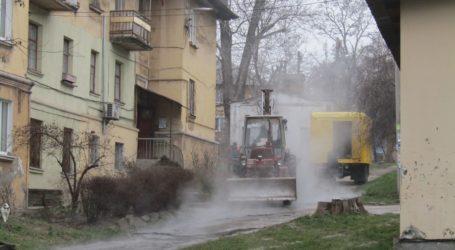 Передноворічні аврали комунальників Кам'янського: про мокре та слизьке