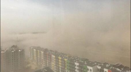 Пилова буря та смог в Київській та Житомирській областях – це тільки початок