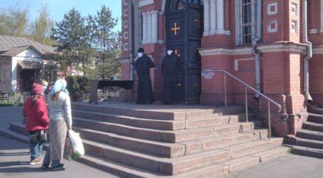 Вербна неділя в Кам'янському: у віртуалі та під наглядом поліції