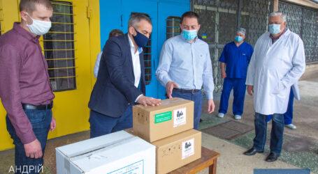 7-я больница Каменского получила оснащение и медикаменты
