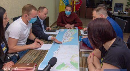 В Каменском обсуждали  наработки по строительству современной набережной
