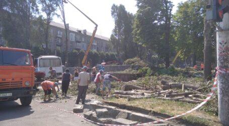 Реконструкція скверу на проспекті Свободи в Кам'янському продовжується