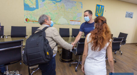 Мэр Каменского провел встречу с техническими консультантами ЕИБ
