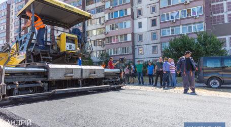 В Каменском приступили к ремонту внутриквартальных дорог
