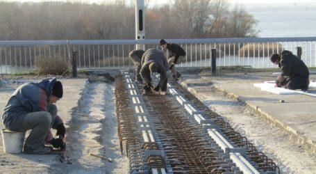 Плани влади Кам'янського щодо ремонту деформаційних швів на мосту та реконструкції лівобережного парку