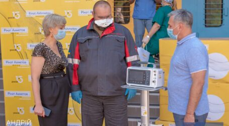 Кам'янська міська лікарня №7 отримала 6 апаратів ШВЛ