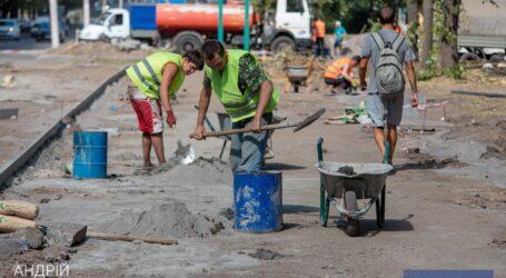 В Каменском строится целый ряд новых инфраструктурных объектов