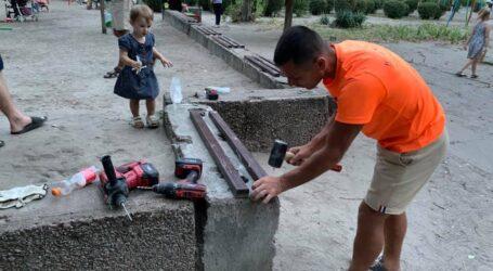 Про лавки, гойдалки та інші забаганки під час виборів у Кам'янському