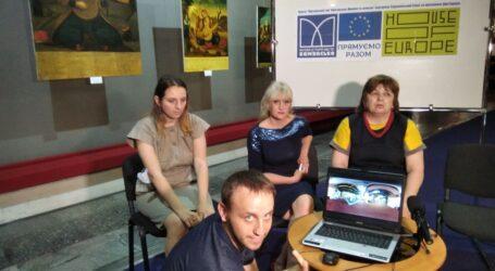Уроки танців та презентація «віртуального музею» в Кам'янському