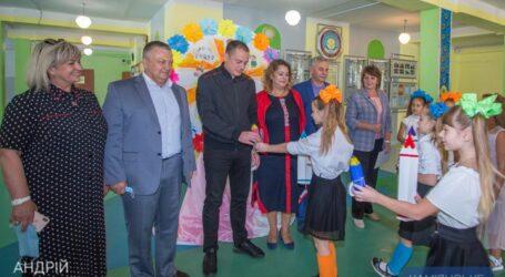 В школах и детских садах Каменского открыли новые и капитально отремонтированные помещения