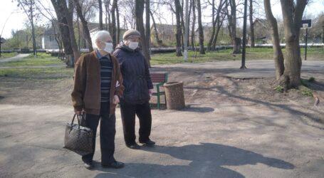 Про долю літніх людей в епоху карантину в Кам'янському