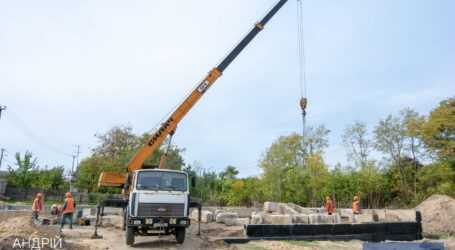 В Романково продолжается строительство амбулатории