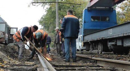 Ремонтні роботи на теплотрасах та трамвайних маршрутах Кам'янського