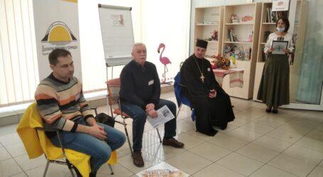 Про особливості спілкування українською в Кам'янському говорили священнослужитель, поет та посадовець
