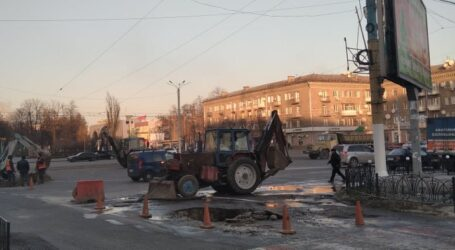 Аварії та ремонти – будні водоканалу Кам'янського