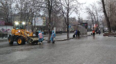 «Льодяне Різдво» в Кам'янському: проїхати легше, ніж пройти
