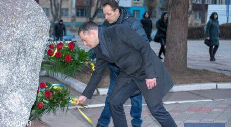 В Каменском почтили подвиг ликвидаторов аварии на Чернобыльской АЭС