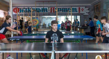 У Кам'янському відбувся чемпіонат міста з настільного тенісу