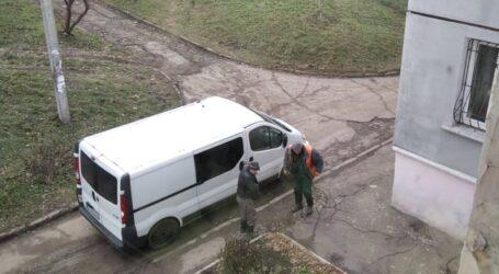 Оновлена аварійна служба Кам'янського і управління житлом в період саботажу