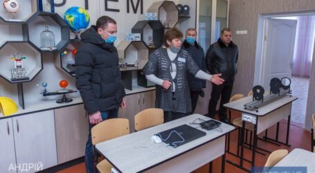 У Кам'янському ліцеї НІТ № 2 відкрилася STEM-лабораторія