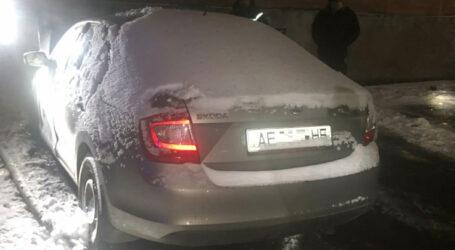 У Кам'янському горіла автівка