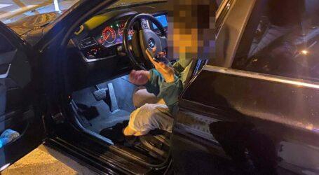 На Дніпропетровщині п'яна жінка кинула скляну пляшку в поліцейську
