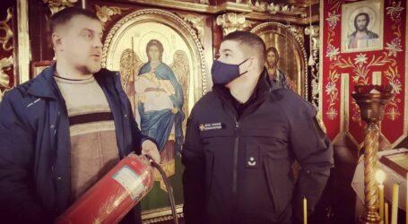Про безпеку під час святкування Різдва нагадали духовенству та вірянам рятувальники в Кам'янському
