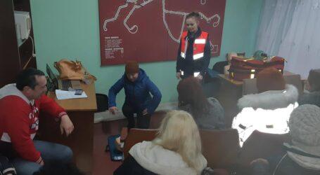 Рятувати пасажирів вчились трамвайники в Кам'янському