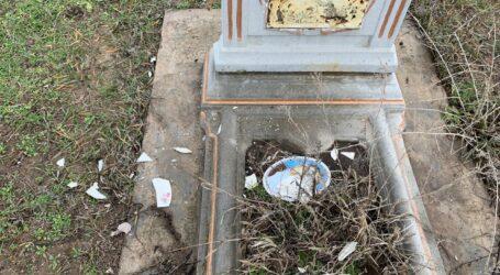 На Дніпропетровщині чоловік осквернив могилу із-за неприязних стосунків з односельчанкою