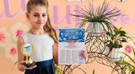 Юна кам'янчанка успішно виступила на VI Міжнародному конкурсі музичного мистецтва «Дніпровські хвилі»