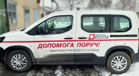 Для сільських амбулаторій Дніпропетровщини придбали 47 нових автомобілів