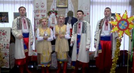Колядники Кам'янського привітали містян з Різдвом (відео)