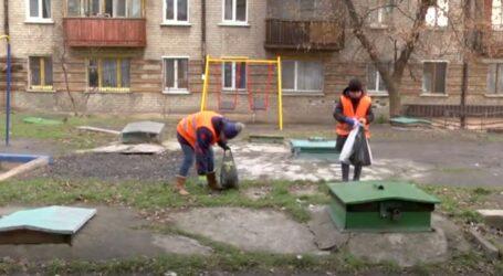 У кам'янських дворах наводять порядок (відео)