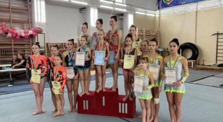 Каменские акробаты заняли призовые места на Чемпионате области