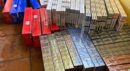 Поліцейські Кам'янського вилучили контрафактні цигарки та алкоголь