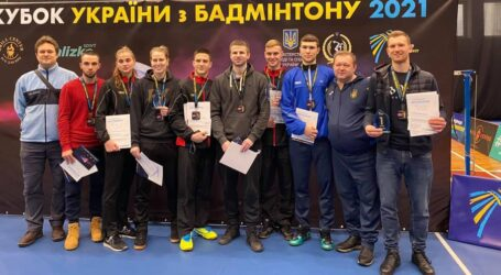 Спортсмени Дніпропетровщини вибороли 14 медалей на Кубку України з бадмінтону