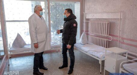 В Каменскую больницу № 7 доставили новую мебель