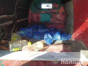 На Дніпропетровщині правоохоронці вилучили контрафактний алкоголь та цигарки - ФОТО