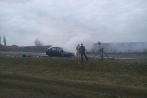 На Дніпропетровщині горіли легковики - ФОТО
