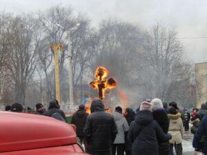 Хіміки відсвяткували Масляну в Кам'янському - ФОТО