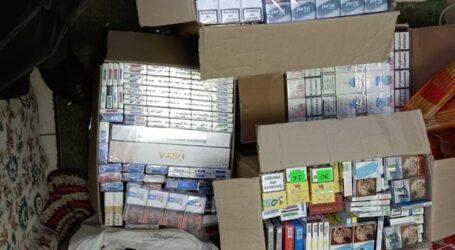 У Кам'янському поліцейські вилучили контрафактні цигарки